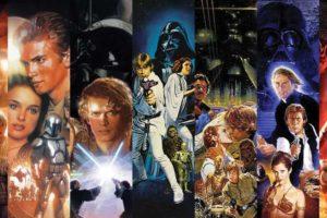 La Guerra De Las Galaxias Episodio I,II,III,IV,V,VI,VII,VIII,IX